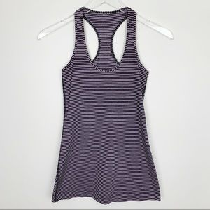 Lululemon | Striped Cool Racerback Tank Top CRB